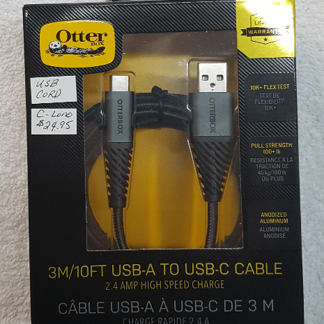 lowest price 89fdd 7ff32 Comm Centre - OtterBox USB-A to USB-C Cable (3m) - View Product Details